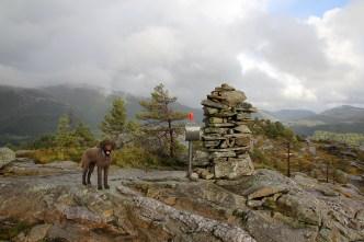 On top of Rossvikheia