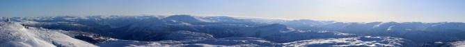 Blåfjellet SLR panorama (3/3)