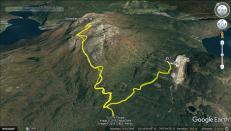 The route to Storehaugfjellet
