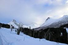 Taskedalstinden massif