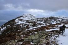 Approaching Saursegga