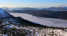 Brusdalsvatnet - with ice