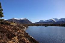 Along Djupvikvatnet