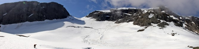 The usual spring avalanches