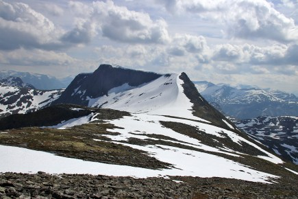 Towards Ramusfjellet