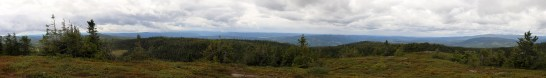 View from Krokvassfjellet (1/2)