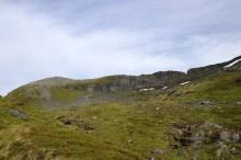 The high ridge comes into view