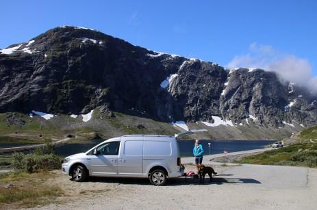 Nice weather on Strynefjellet