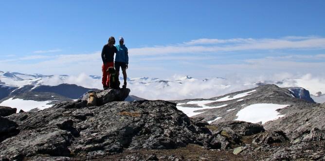 On top of Breiddalseggi