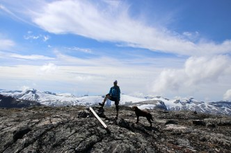 On top of Søre Stavbrekknovi