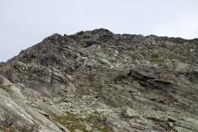 Steep descent from Djupvassegga