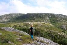 Indre Rånafjellet ahead