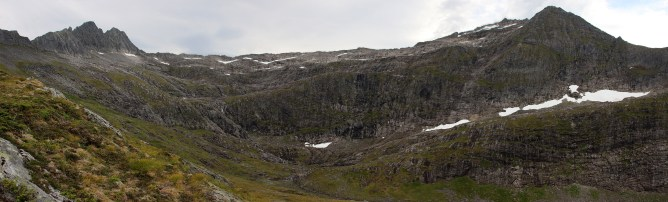 Blåtindane and Kalvedalsegga