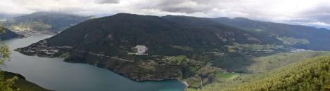 View towards Hesteggi