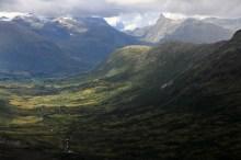 Knutsdalen valley