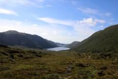 Towards Raudsandvatnet
