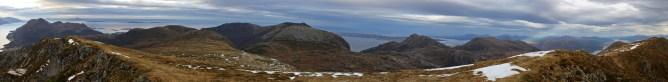 View from Oppstadhornet (2/2)