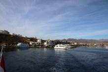 Leaving Naama bay