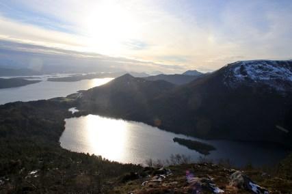 Lake Slyngstadvatnet
