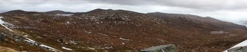 View towards Storebroren