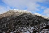 The ridge we came down