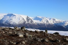Mountains above Våtedalen