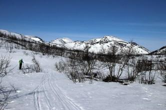 Towards Laksatjørni
