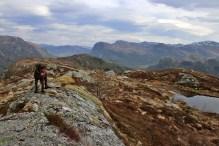 On top of Øygardsfjellet