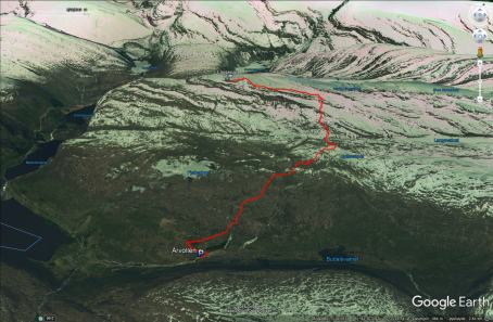 Our route to Lassenipa