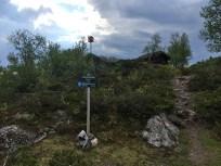 Ytrehornnakken signpost