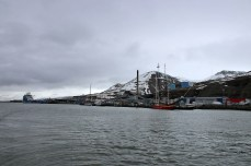 Leaving Longyearbyen