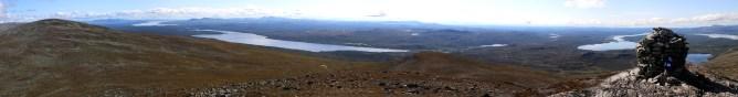 Viglpiken panorama (2/2 - Canon)