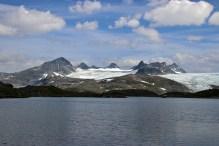 Smørstabbreen glacier