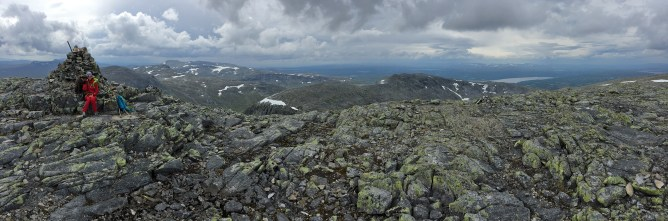 On top of Skardsfjella