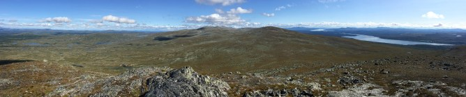 Viglpiken panorama (1/2 - Iphone)
