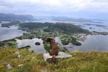 Karma overlooking Dimna island