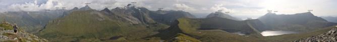 Annotated panorama