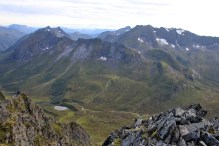 Romedalen-Langedalen peaks