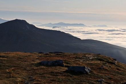 Blåtind and a carpet of fog