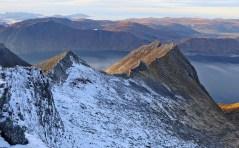 The north ridge. Looks cool