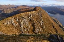 The ridge towards Saursegga