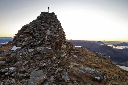 On top of Melshornet