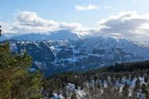 The Skardsbøfjellet road - skied 12 days earlier