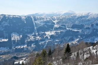 Skardsbøfjellet - I skied this road 2 days earlier