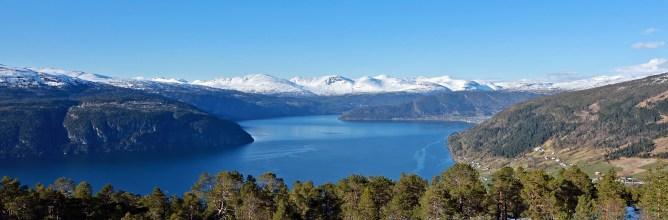 Across Utvikfjellet - Nordfjord view