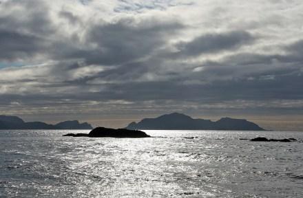 Runde island (right)