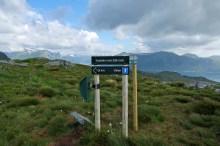 Svedehornet signpost