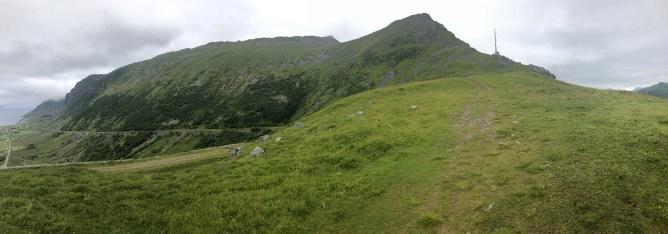 The ridge to Saupstadtinden