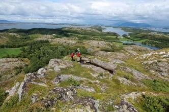 The final hill to Einvolltinden
