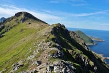 The ridge to Kjølen